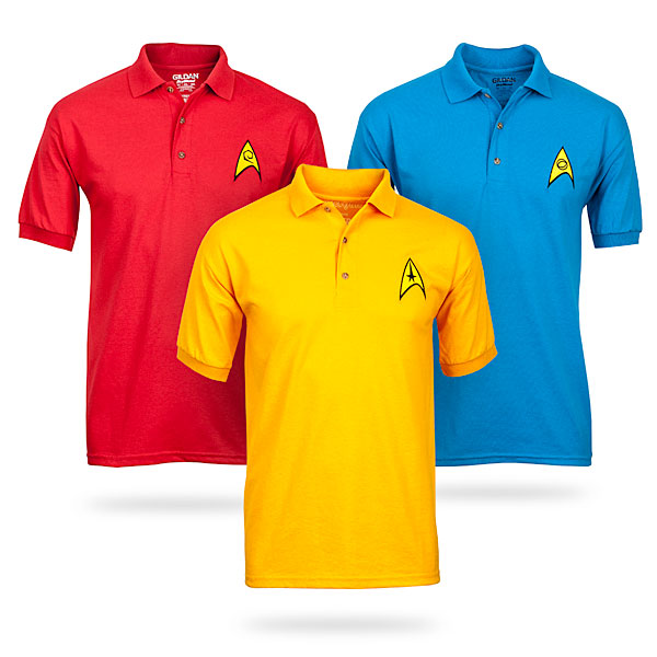 bb936e27b2100ae108e0080529e876eb Star Trek Uniform Polos