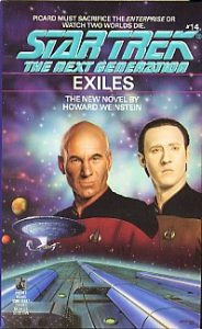 """130 184x300 """"Star Trek: The Next Generation: 14 Exiles"""" Review by Deep Space Spines"""