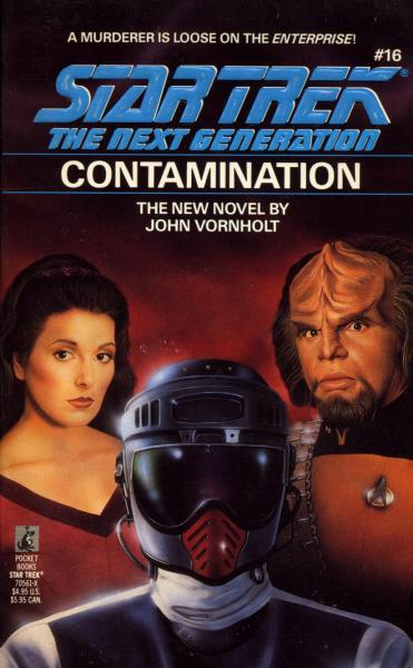 """21qeKrzxXHL. SL500  """"Star Trek: The Next Generation: 16 Contamination"""" Review by Deep Space Spines"""