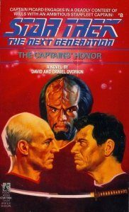 "418ZS39SXML. SL500  182x300 ""Star Trek: The Next Generation: 8 The Captains Honor"" Review by Deep Space Spines"