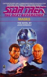 """41Gqmxv4KcL. SL500  182x300 """"Star Trek: The Next Generation: 7 Masks"""" Review by Deep Space Spines"""
