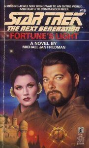 """41KIzd1x8 L. SL500  181x300 """"Star Trek: The Next Generation: 15 Fortune's Light"""" Review by Deep Space Spines"""