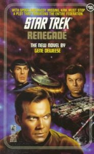 """51403P9QDCL. SL500  184x300 """"Star Trek: 55 Renegade"""" Review by Deep Space Spines"""