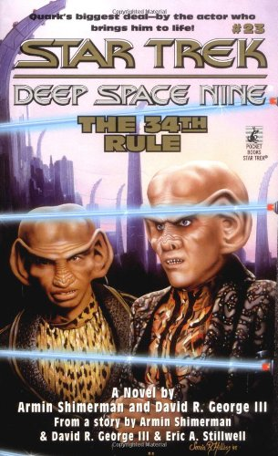 """Star Trek: Deep Space Nine: 23 The 34th Rule"" Review by Trek Lit Reviews"
