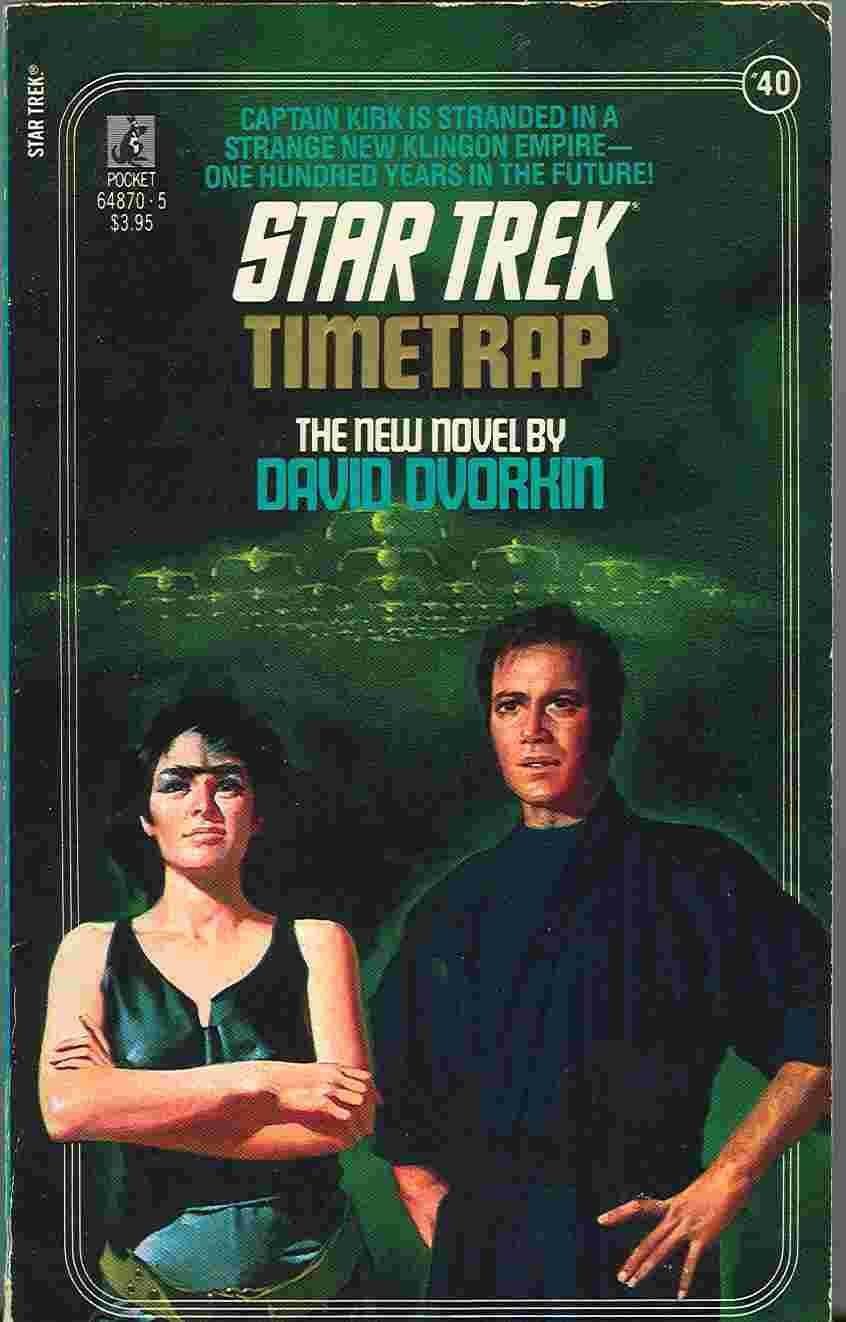 """Star Trek: 40 Time Trap"" Review by Deep Space Spines"