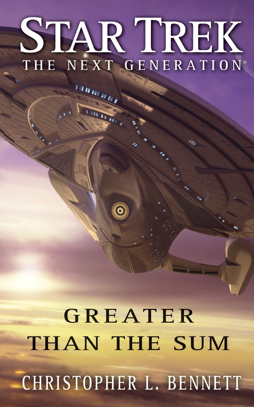 """""""Star Trek: The Next Generation: Greater than the Sum"""" Review by Treklit.com"""