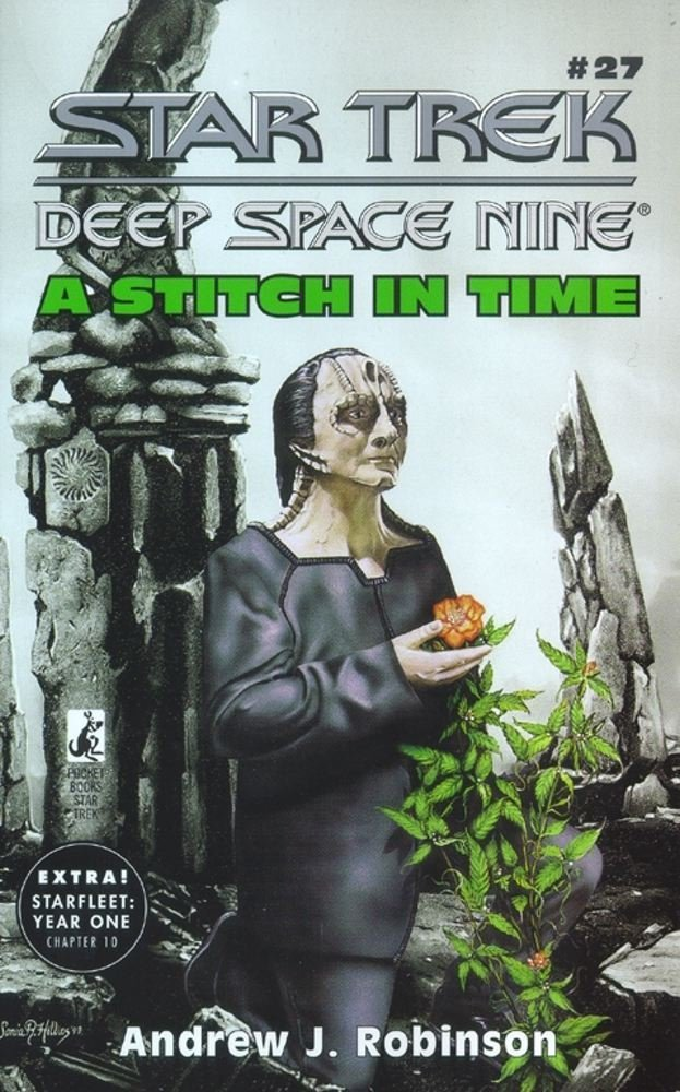 """Star Trek: Deep Space Nine: 27 A Stitch In Time"" Review by Trek Lit Reviews"