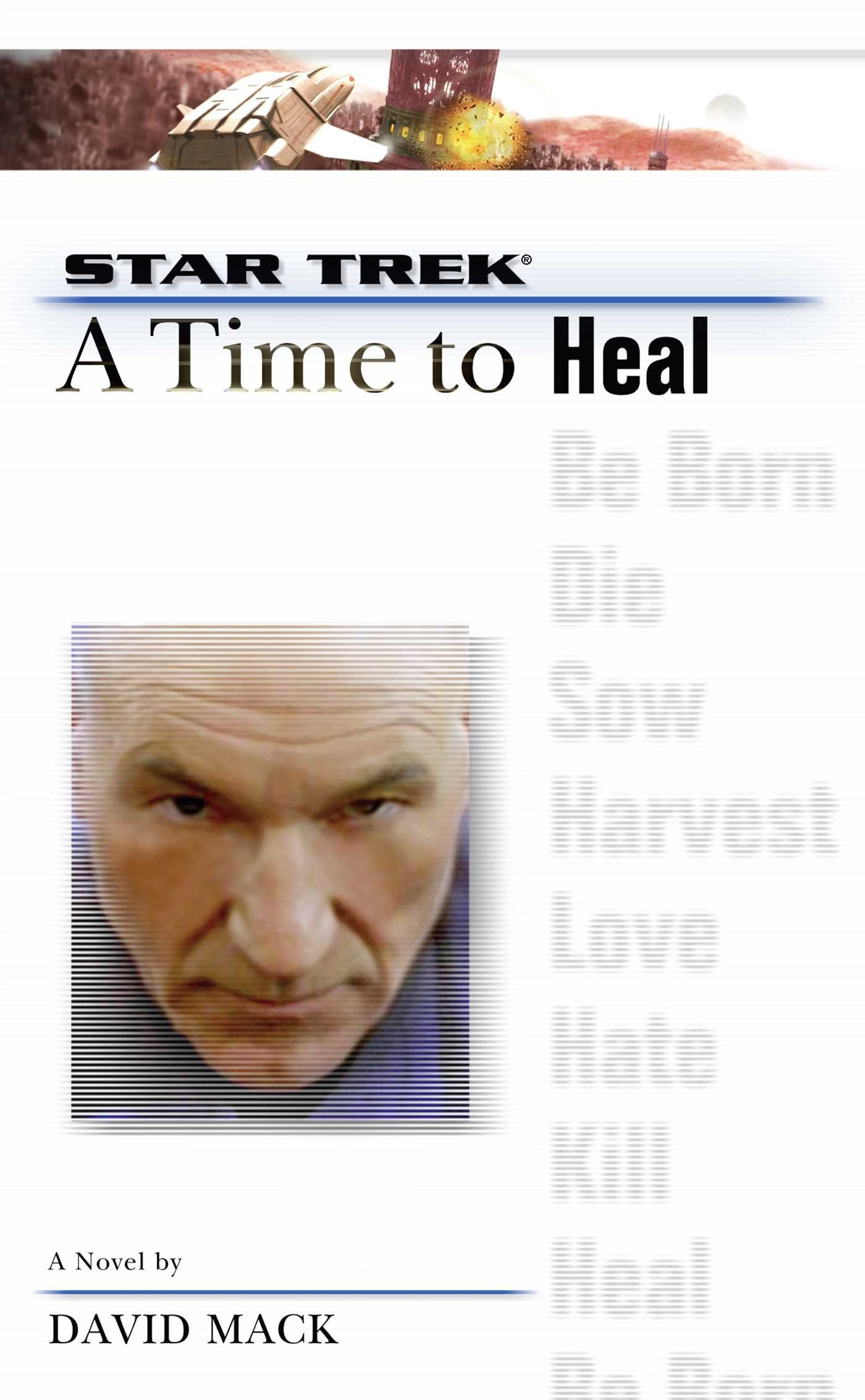 """Star Trek: The Next Generation: 8 A Time To Heal"" Review by Literary Treks"