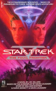 """8191Yg057PL 185x300 """"Star Trek V: The Final Frontier"""" Review by Deep Space Spines"""