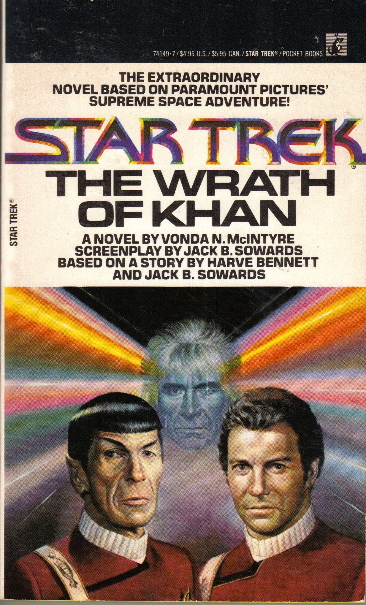 Author Sighting: William Leisner on Enterprising Indivduals for Star Trek 2: The Wrath of Kahn