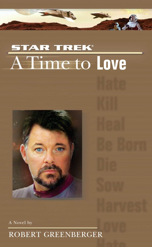 "a star trek the next generation time 4 a time to love 9780743462884 hr 634x1024 ""Star Trek: The Next Generation: 5 A Time To Love"" Review by Literary Treks"