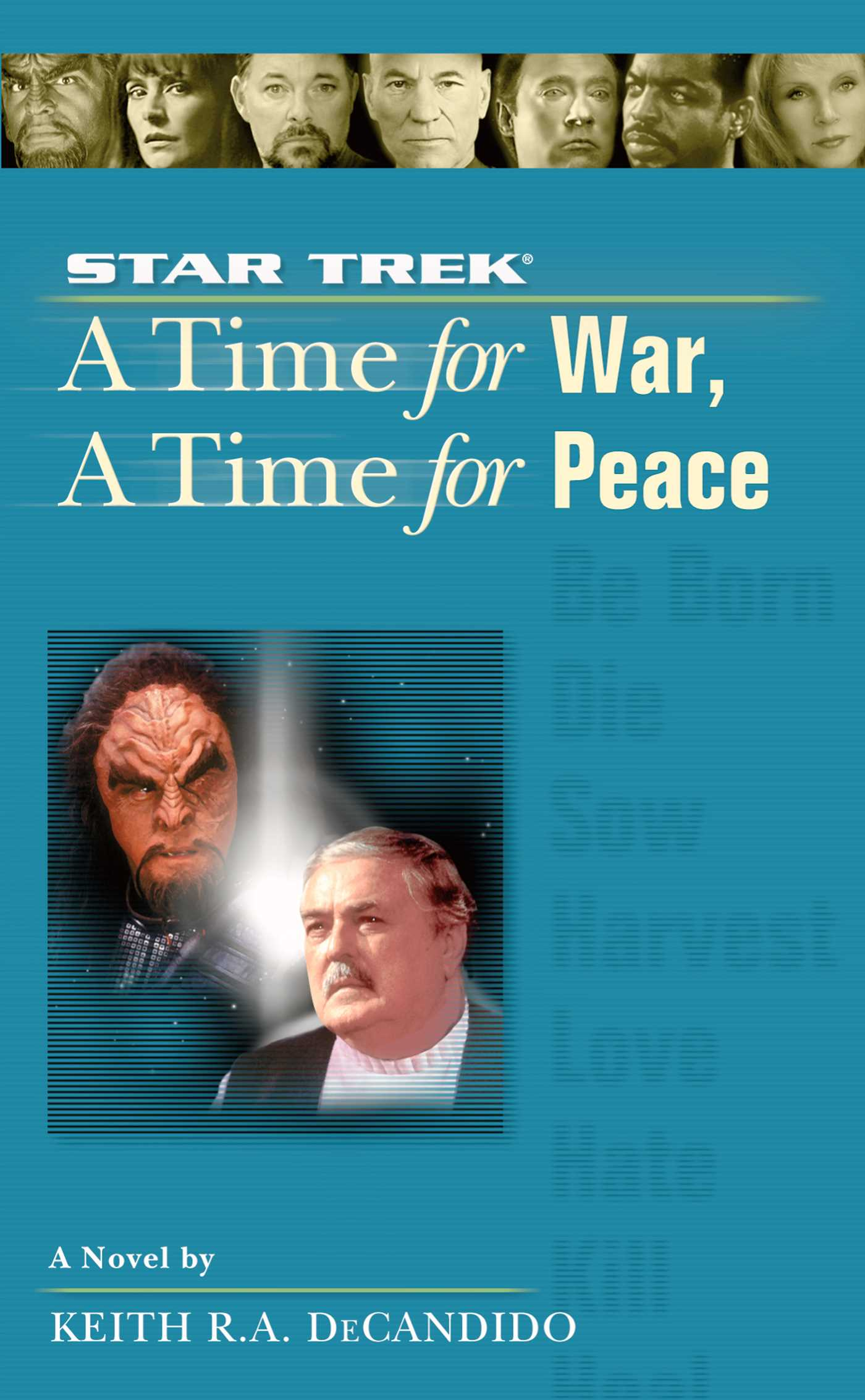 """""""Star Trek: The Next Generation: 9 A Time For War, A Time For Peace"""" Review by Motionpicturescomics.com"""