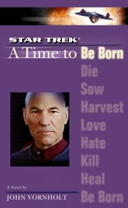 "cvr9781471107450 9781471107450 hr 185x300 ""Star Trek: The Next Generation: 1 A Time To Be Born"" Review by Literary Treks"