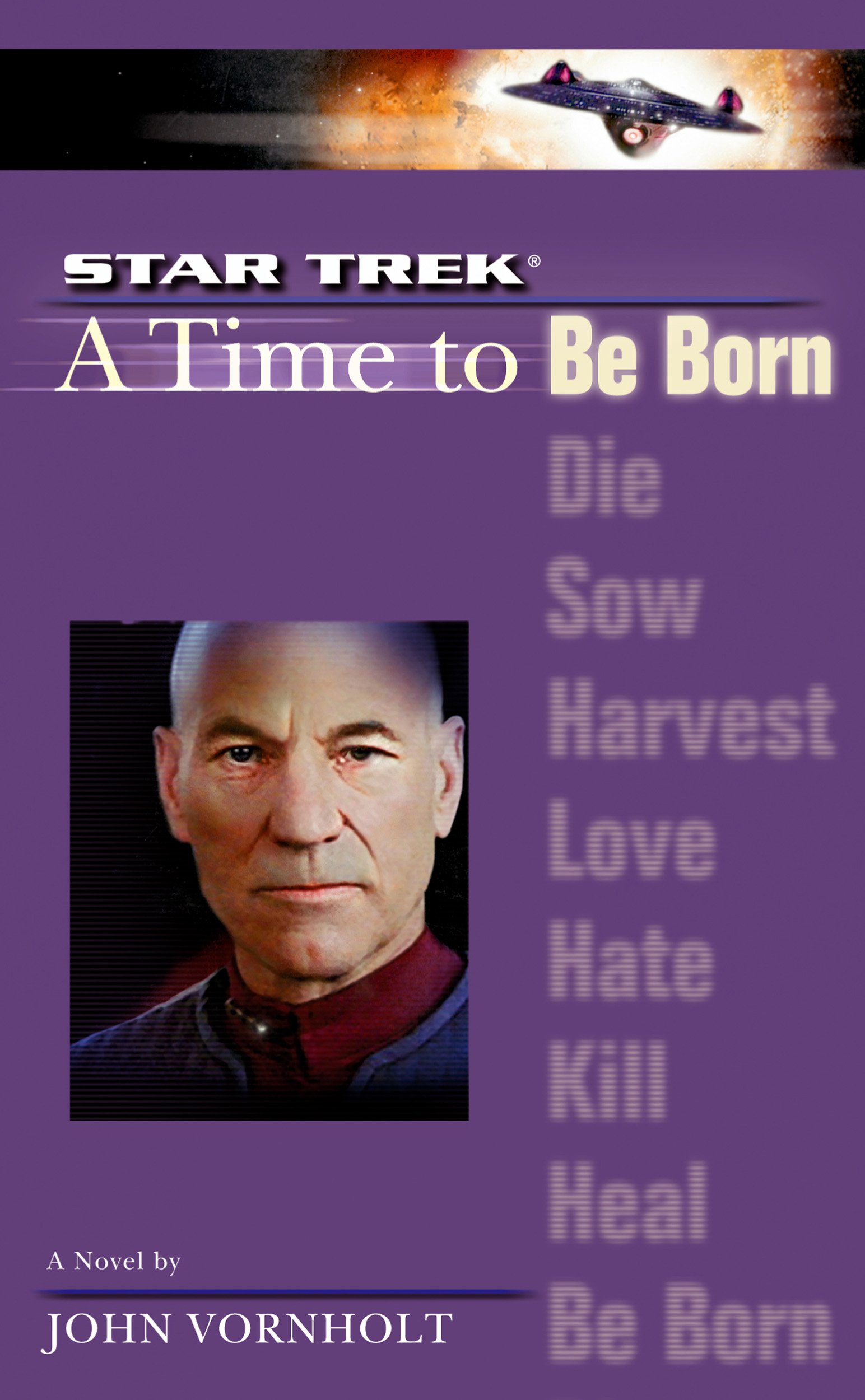 """""""Star Trek: The Next Generation: 1 A Time To Be Born"""" Review by Motionpicturescomics.com"""