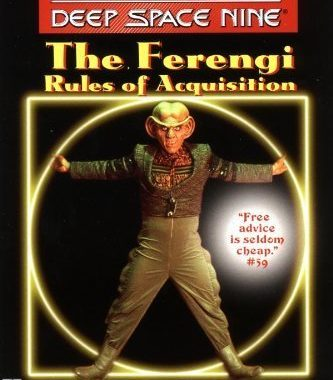 """""""Star Trek: Deep Space Nine: The Ferengi Rules of Acquisition"""" Review by Deepspacespines.com"""