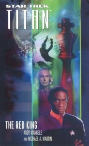 """the red king 184x300 """"Star Trek: Titan: The Red King"""" Review by Literary Treks"""