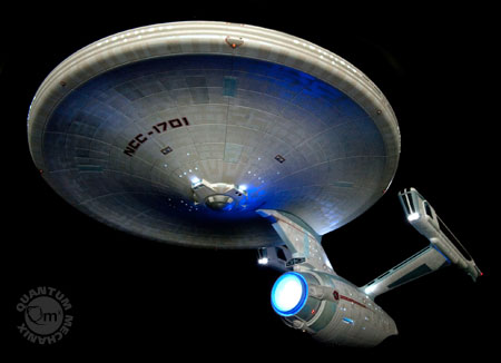 QMx Unveils 2009 Star Trek Movie Enterprise Replica