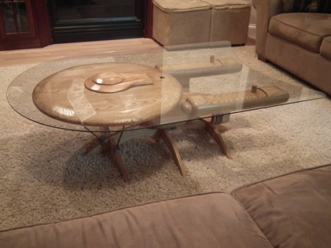USS Enterprise-C Coffee Table