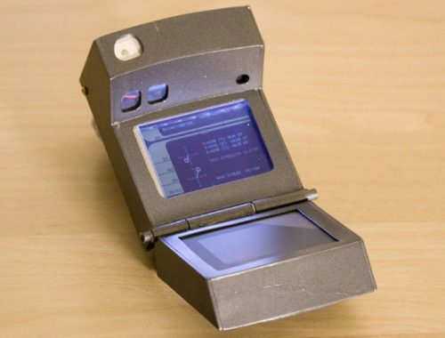 This is a real, working, Star Trek-style Tricorder