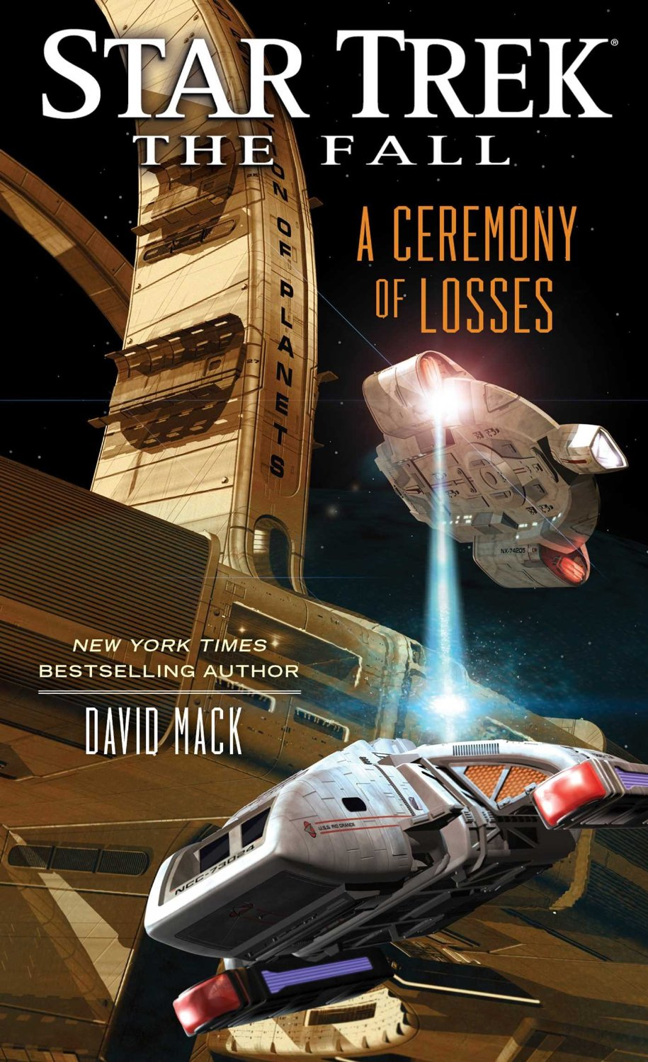"""""""Star Trek: The Fall: A Ceremony of Losses"""" Review by Tor.com"""