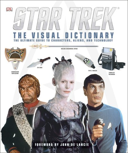 """""""Star Trek: The Visual Dictionary"""" Review by The Trek Collective"""