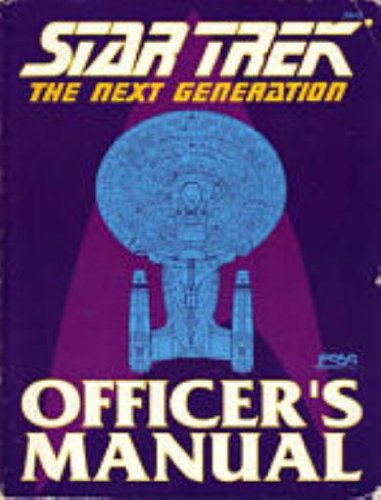 """""""Star Trek: The Next Generation: Officer's Manual"""" Review by Continuingmissionsta.com"""