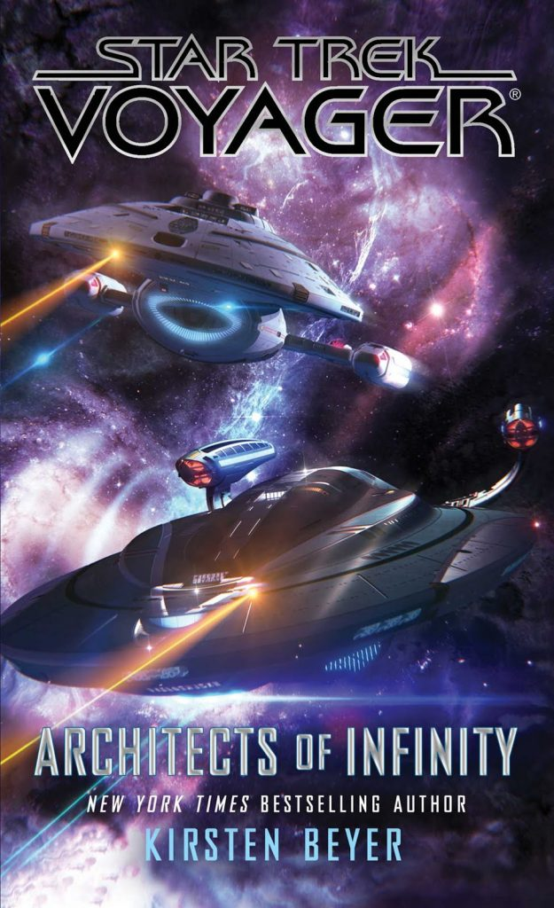 "Star Trek Voyager Arcitects of Infinity front cover 625x1024 ""Star Trek Voyager: Architects of Infinity"" Review by Trek Today"