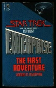 "41ZDFHXSR0L 192x300 ""Star Trek: Enterprise: The First Adventure"" Review by Deep Space Spines"