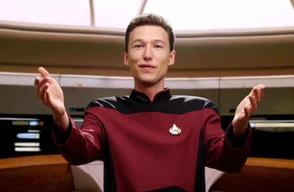 Data & Picard by Pogo