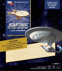 "incredibuild tng 261x300 Out Today: 3 different ""IncrediBuilds"" books with model sets"