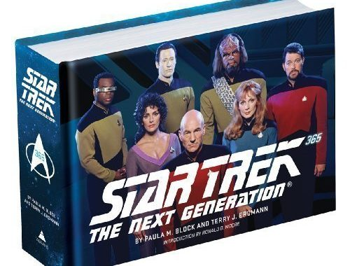 "Star Trek Book Deal Alert! ""Star Trek: The Next Generation 365"""