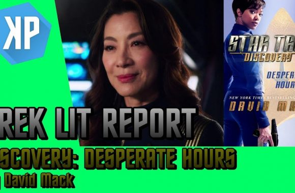 TREK LIT REVIEWS: Star Trek: Discovery: Desperate Hours by David Mack