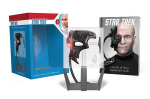 """61RD1zuZcL 300x198 Out Today: """"Star Trek: Locutus of Borg Collectible Mask: With Light and Sound!"""""""