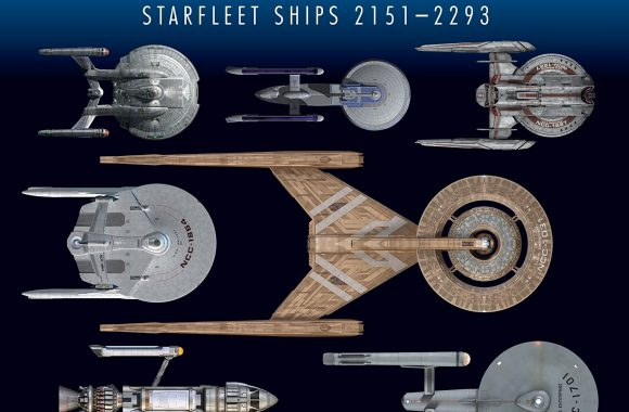 """Star Trek Shipyards Starfleet Starships: 2151-2293"" Preview by StarTrek.com"