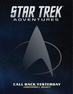 """STAR TREK ADVENTURES CALL BACK YESTERDAY 232x300 Out Today: """"Star Trek: Adventures: Call Back Yesterday"""""""