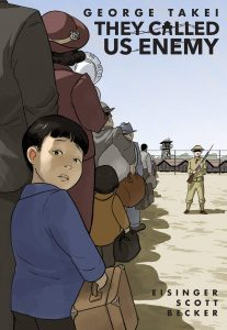 71LK6RXvxrL 207x300 They Called Us Enemy has been nominated for The McDuffie Award!