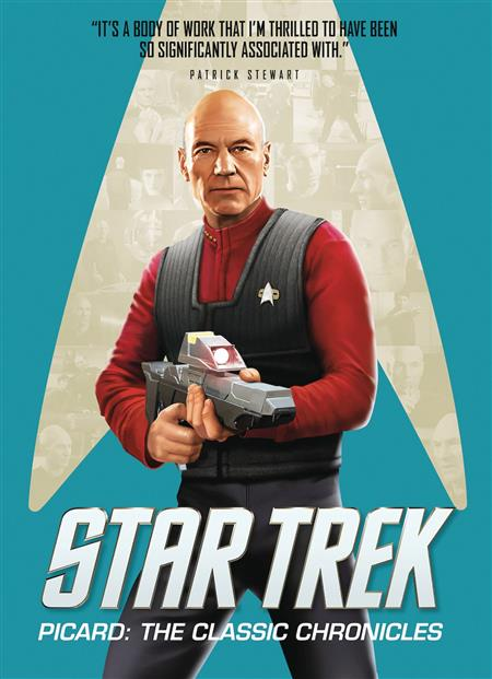 """JUN191972 Out Today: """"Star Trek: Picard: The Classic Chronicles"""""""