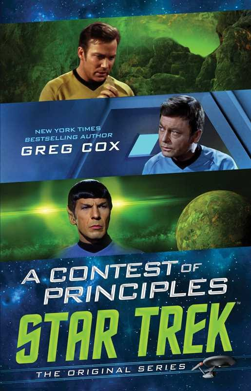 Simon and Schuster Gallery Books Star Trek The Original Series A Contest of Principles 2020 Year In Review