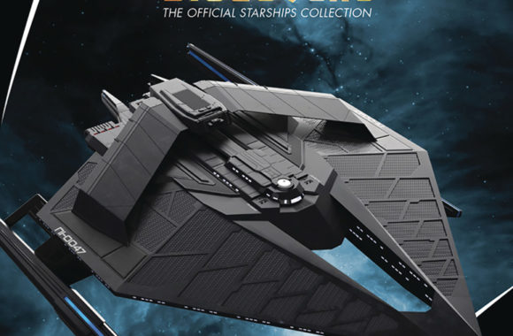 """Out Today: """"Star Trek: Discovery: The Official Starships Collection #30 Section 31 Medium Starship"""""""