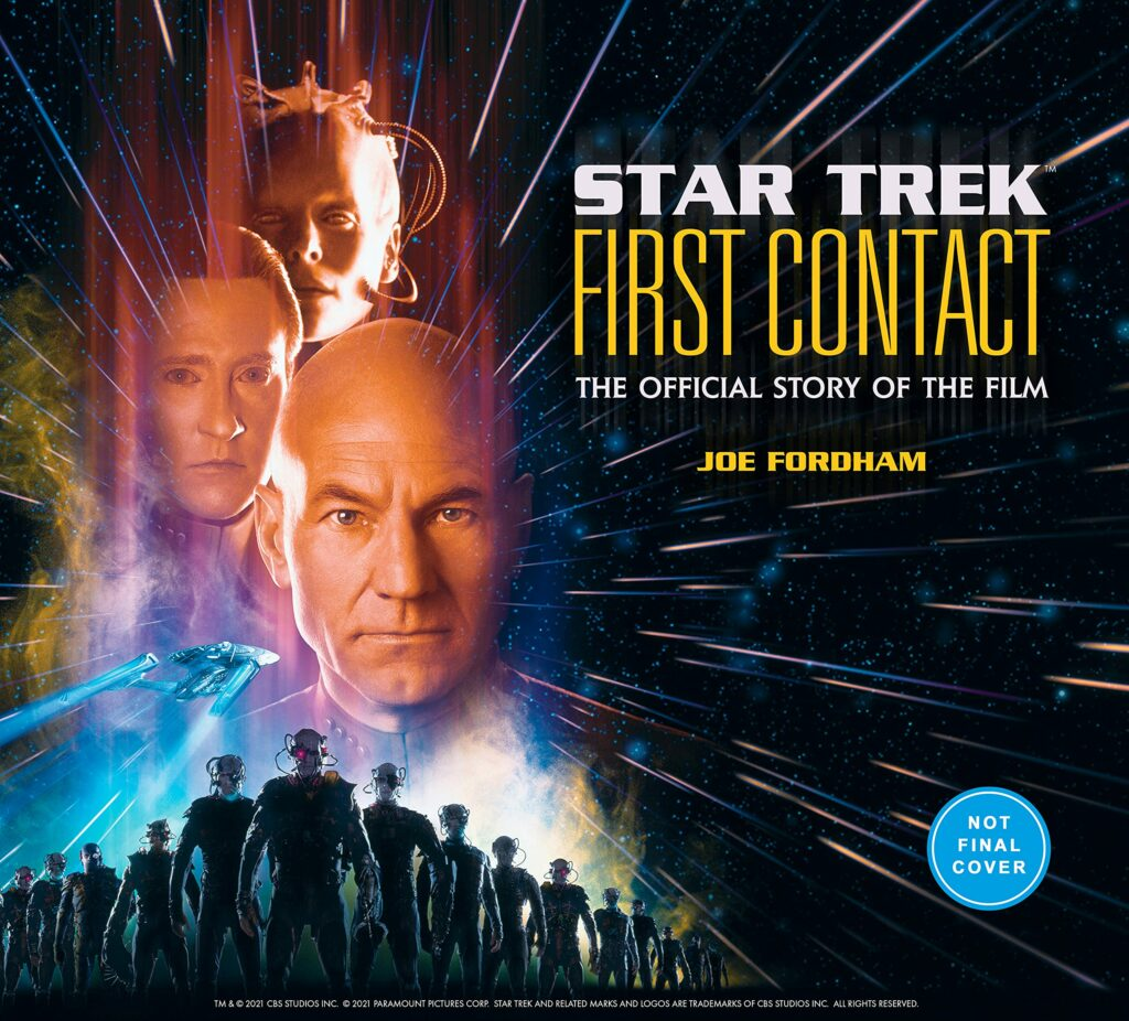 91MRw3hB9L 1024x926 New Book Added: Star Trek First Contact: The Official Story of the Film